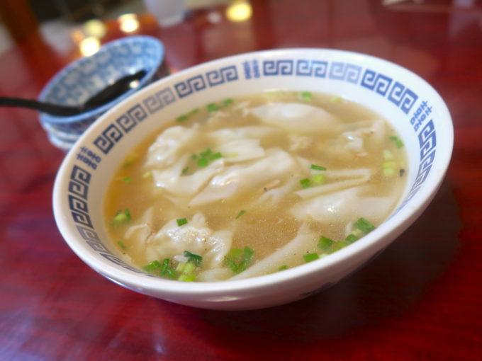 スープ餃子(650円)