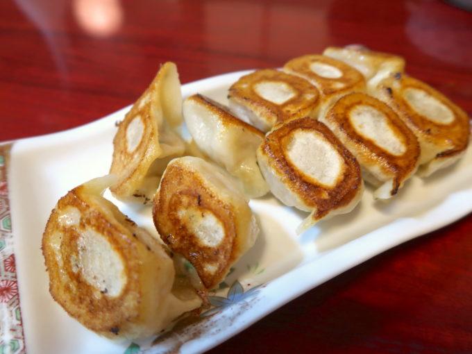 焼き餃子(550円)