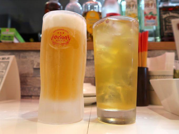 ビール&さんぴん茶