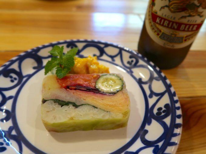 野菜果物テリーヌ 味玉マスタード