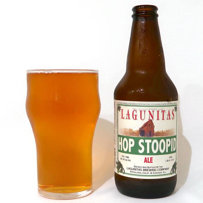 アメリカ Lagunitas Brewing Hop Stoopid