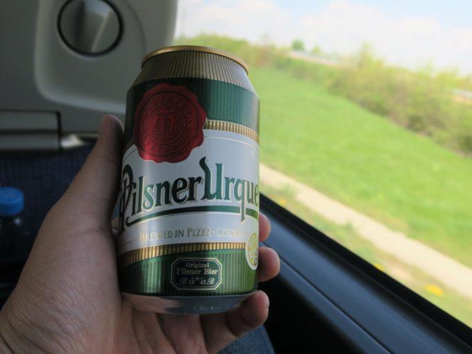 チェコで飲んだウルケル