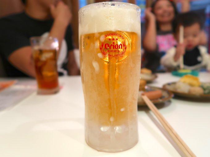 輝くビール