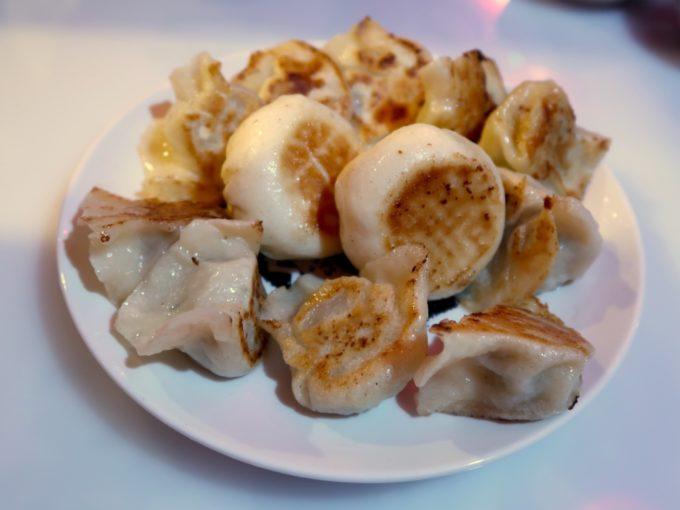 焼き餃子&焼き豚マン