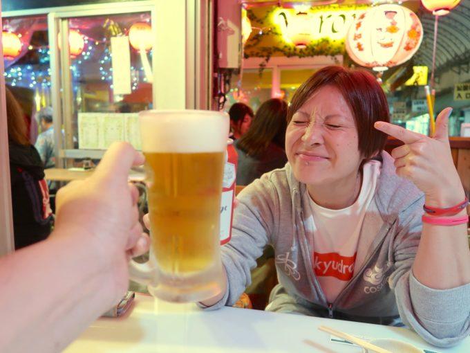 ずっとビール!