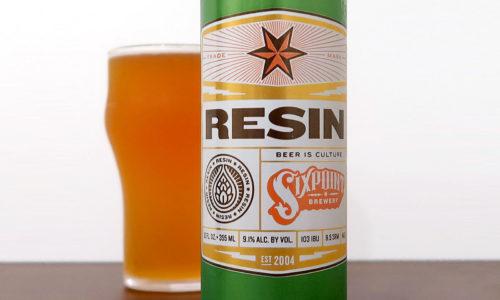 アメリカ Sixpoint Brewery RESIN IIPA