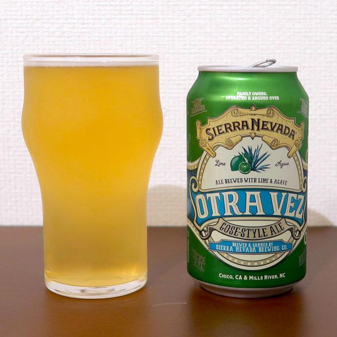 アメリカ Sierra Nevada Brewing Co. OTRA VEZ™ LIME & AGAVE