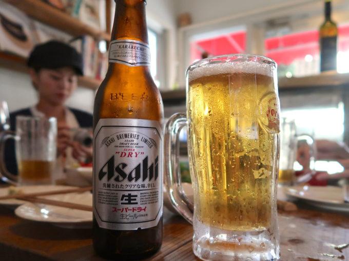ビールはアサヒビールへ