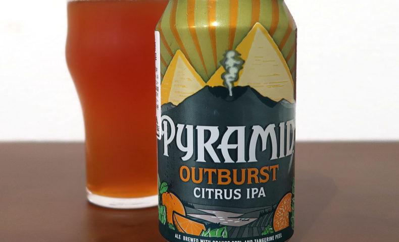 アメリカ Pyramid Brewing Co. OUTBURST CITRUS IPA