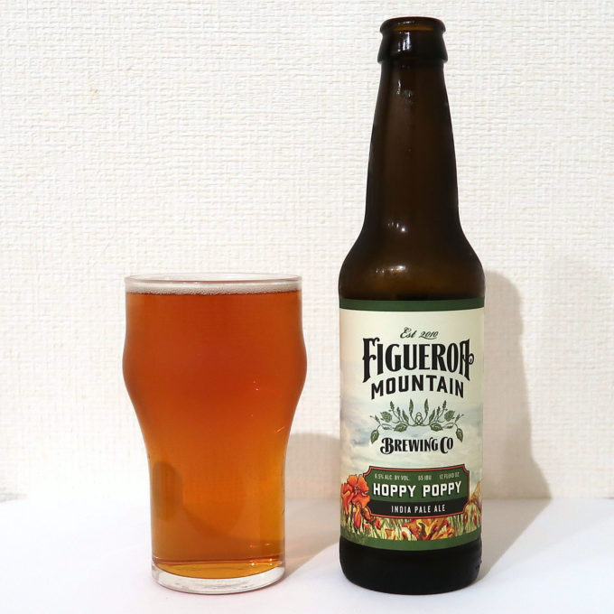 アメリカ Figueroa Mountain Brewing Co. HOPPY POPPY IPA
