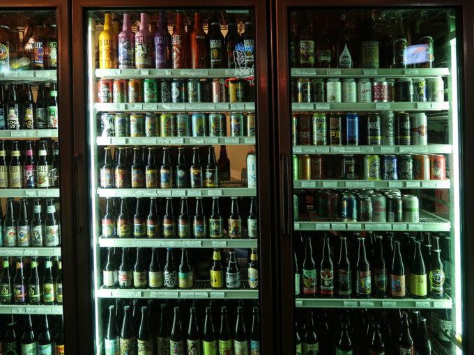 いろんなビールがたくさん