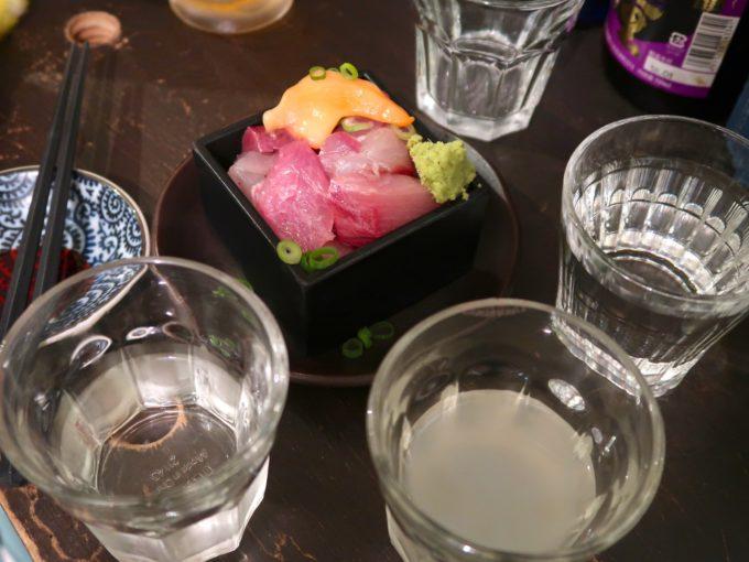 日本酒を…