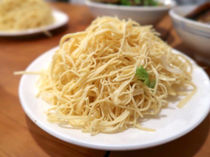 押し豆腐の冷菜(500円)