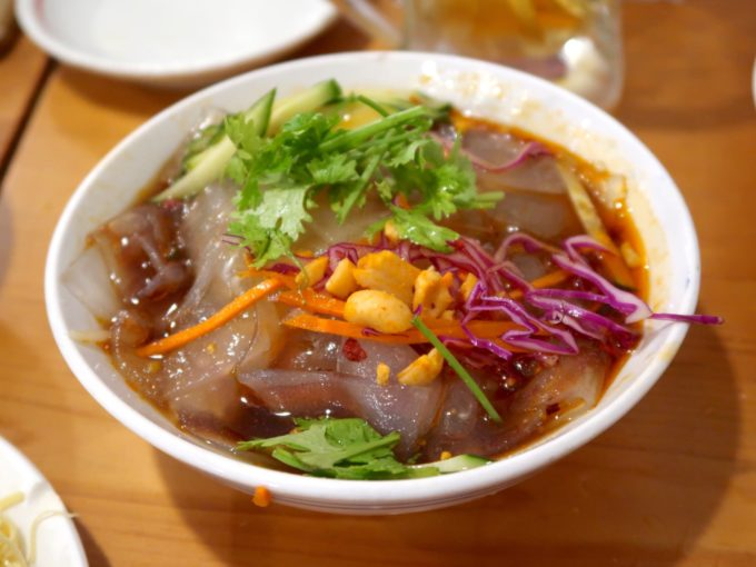 板春雨の冷菜(700円)