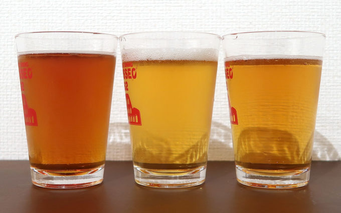 見た目も違う秋のビール