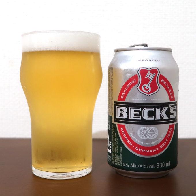 ドイツ ジャーマンピルスナー BECK'S 缶