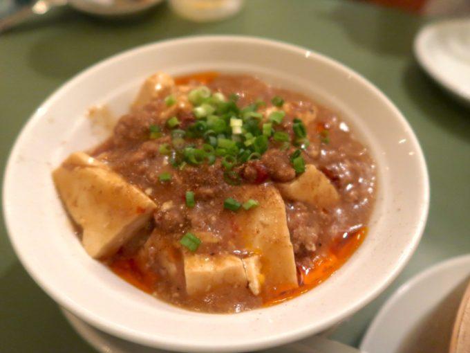 麻婆豆腐(480円)