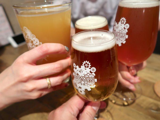 からくりで乾杯!