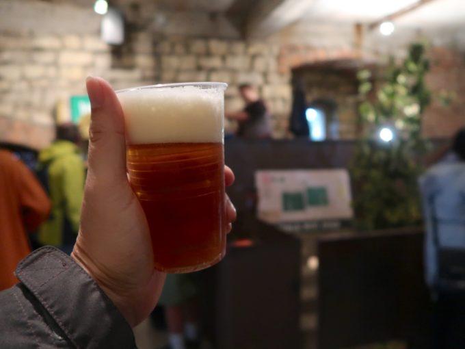 ビール、いただきます!