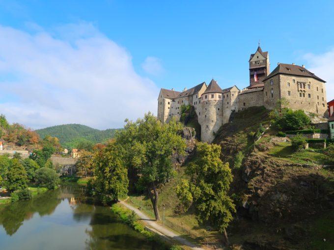 チェコの要塞都市 Loket(ロケト)