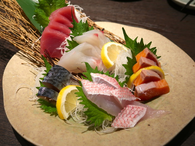 鮮魚5点盛(1,000円)