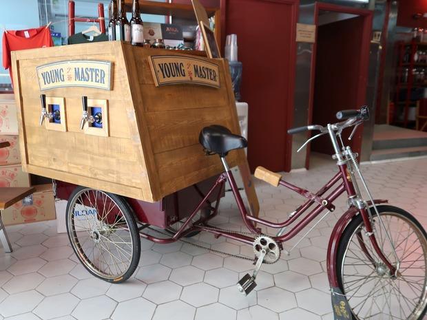 ビール自転車