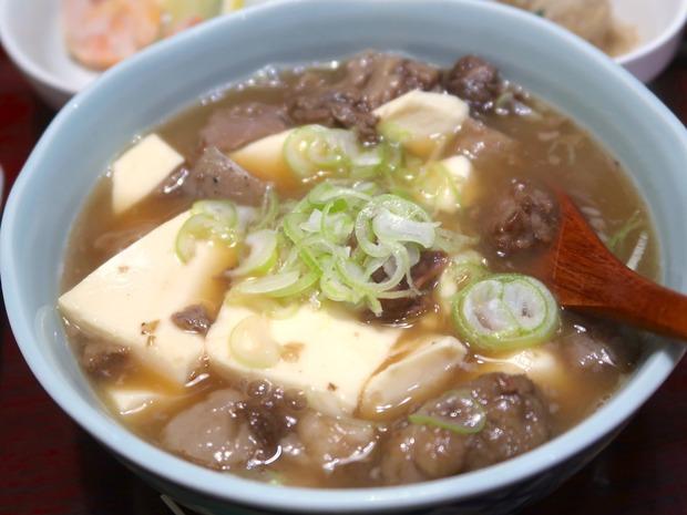 煮込み豆腐(680円)