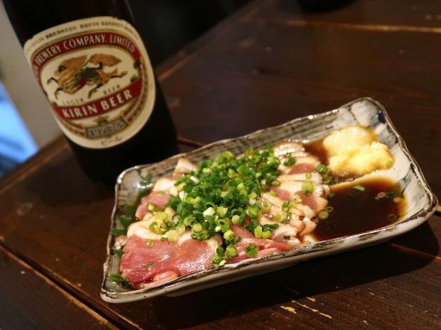 薩摩地鶏タタキ(650円)