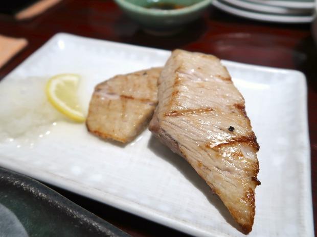 マグロカマ焼(550円)