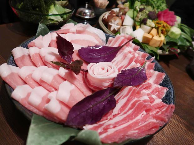 金武アグーの豚バラとロース