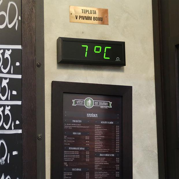 冷蔵庫の温度?