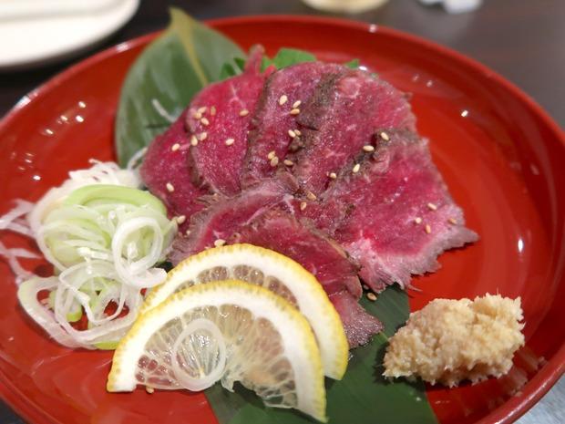 あぶり牛肉ポン酢(490円)