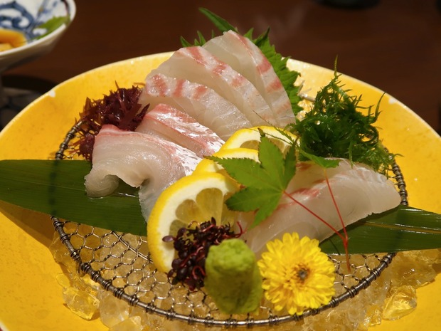 伊達真鯛お造り(1,280円)