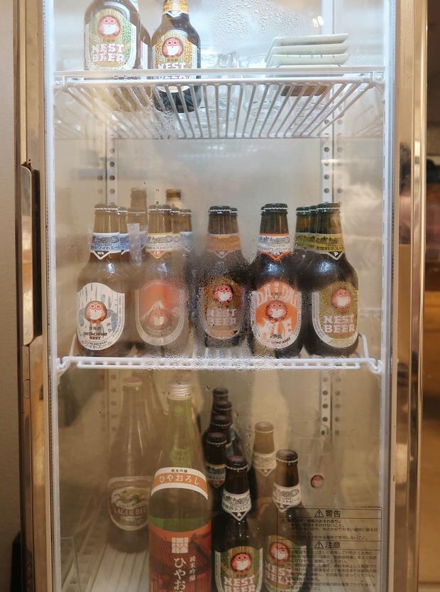 冷蔵庫にはネストビール