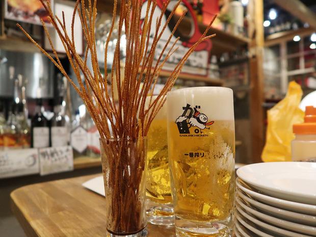 ビールととまらん棒