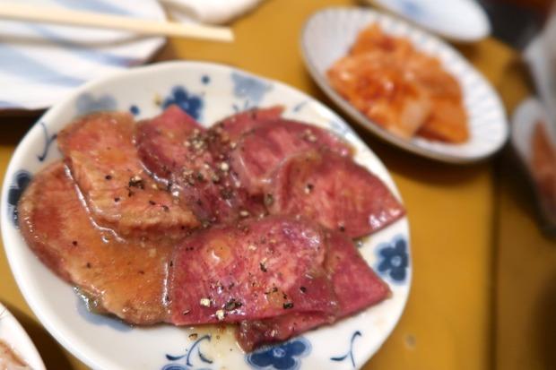 タン&ミノ(それぞれ600円)