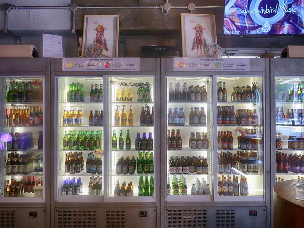 The 1/3rd Café &Bar 冷蔵庫