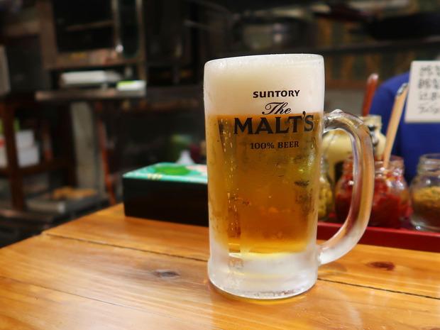 トミヤランドリー ビールはモルツ