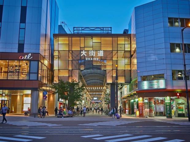 松山・大街道