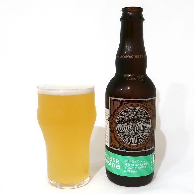 アメリカ Almanac beer Hoppy Sour: El Dorado