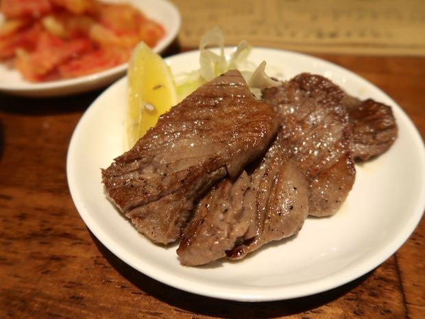 熟成牛タン焼き(730円)