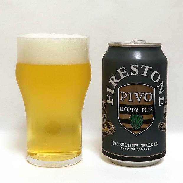 アメリカ Firestone Walker Brewing PIVO: HOPPY PILSNER