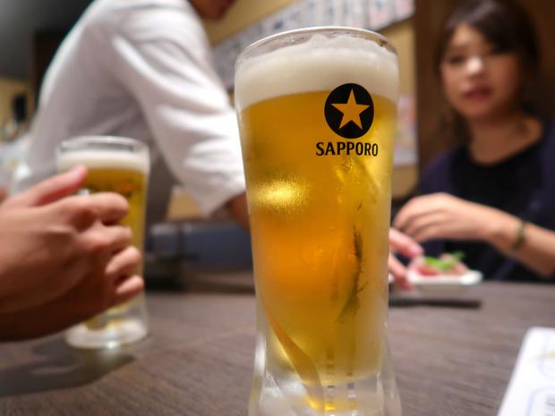 ビールはサッポロ!