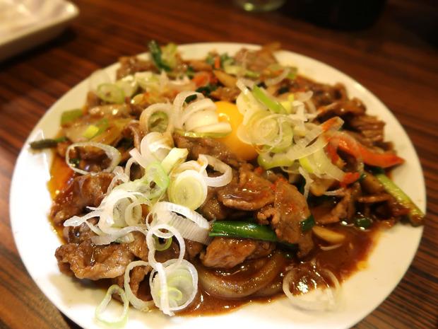 スタミナ焼(600円)