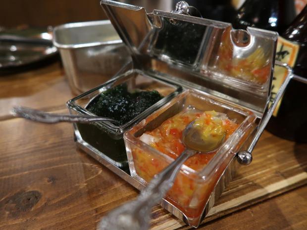 牡蠣のソース