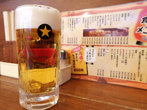 ビールはサッポロビール